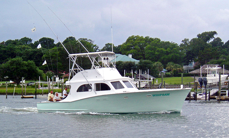 Wrightsville beach fishing boat whipsaw charters for Wrightsville beach fishing charters