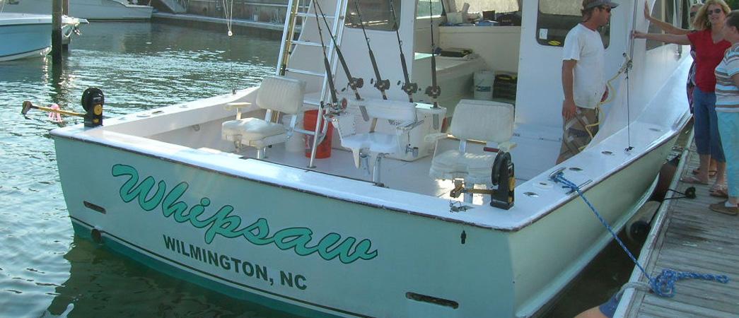 Wrightsville beach fishing charters north carolina for Deep sea fishing wilmington nc